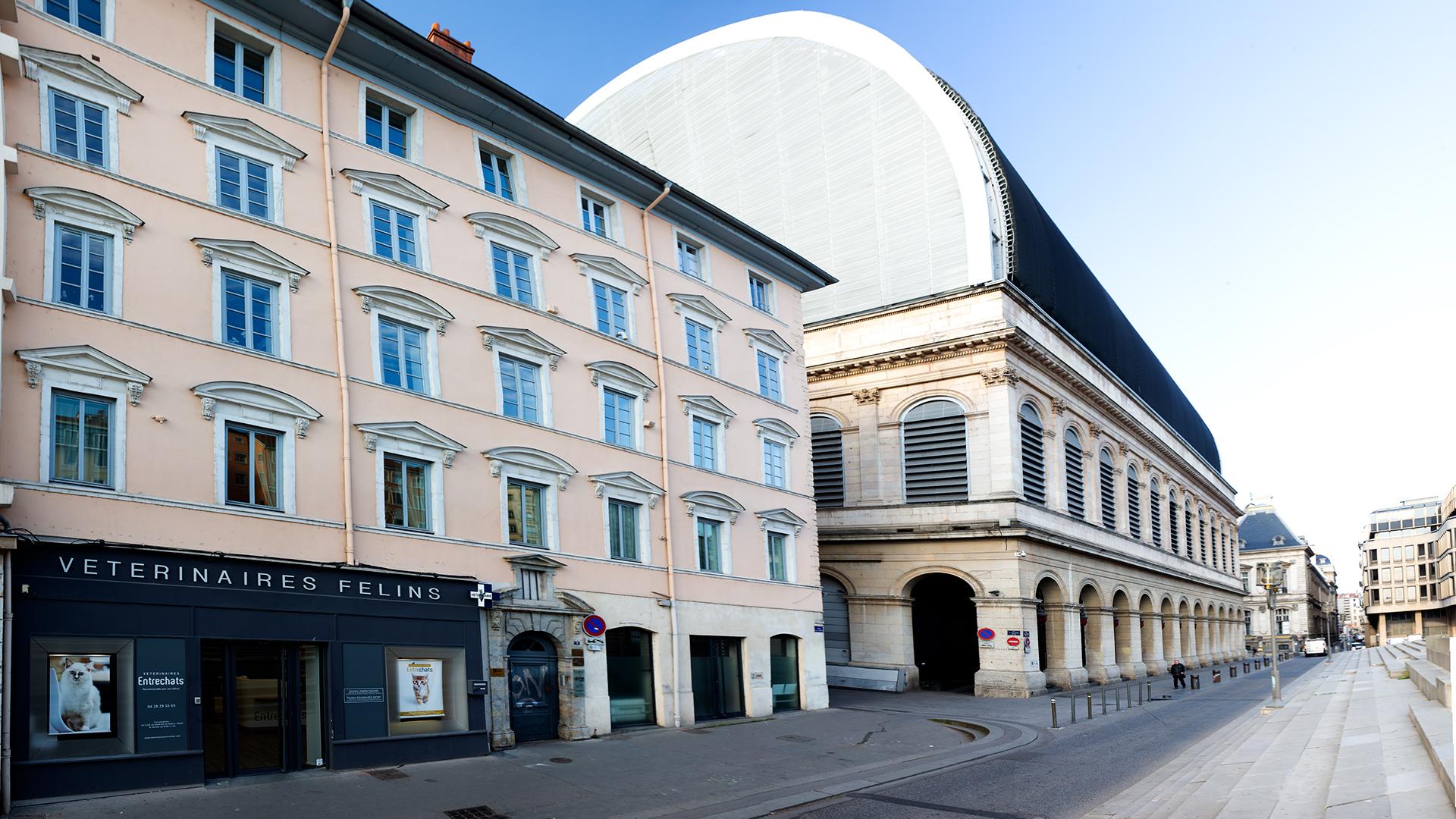 Entrechats centre Lyon Opera